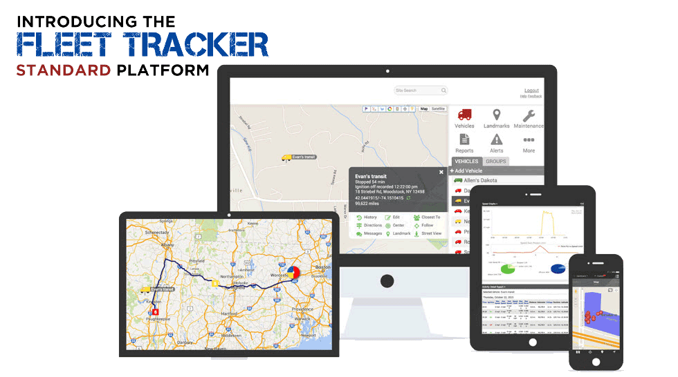 Fleet Tracker Standard Platform