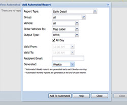 Customized Automatic Reports