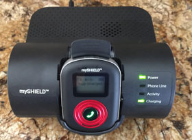 MyShield With Home Docking Station