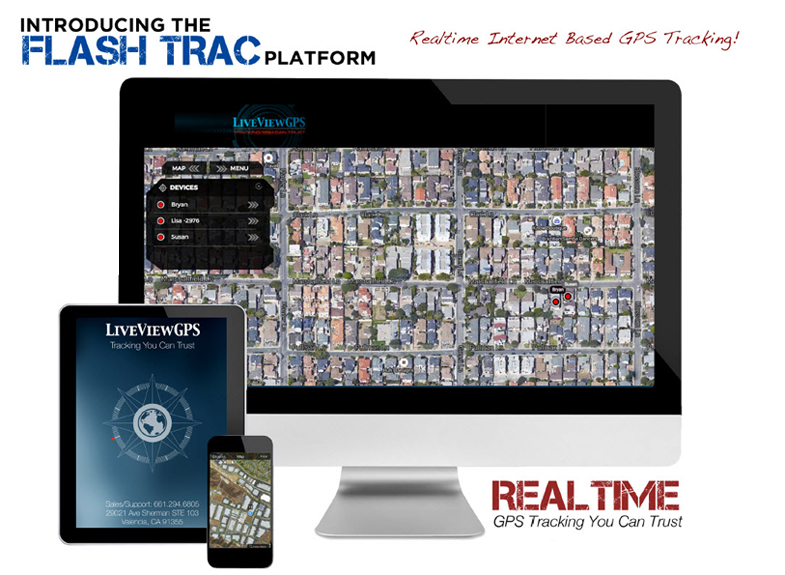 Flash Trac Real-Time GPS Tracker Platform
